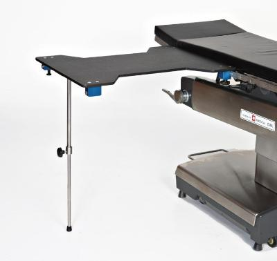 AC2203-1 Hourglass Carbon Fiber Arm & Hand Surgery Table with Single Post Leg
