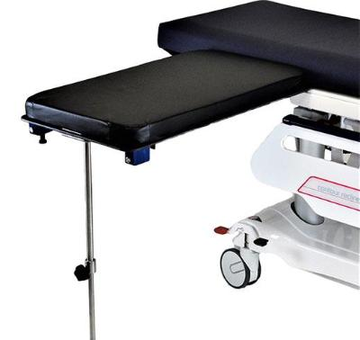 AC2206-1 Under Pad Mount Arm & Hand Surgery Table, Phenolic Top, Single Post Leg