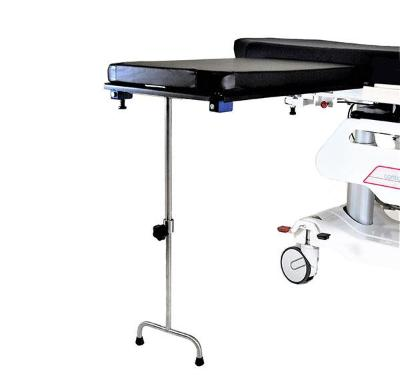AC2208-2 Under Pad Mount, Carbon Fiber Arm & Hand Surgery Table with Double Tee Foot