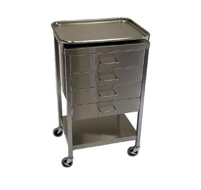 AC236-T | Anesthesia Cart with 4 Drawers & Removable Tray