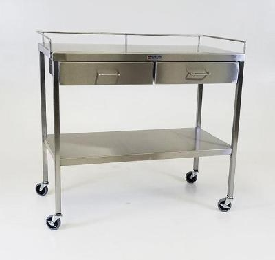AC238 Stainless Steel Extra Large Utility/Prep Table with 4 Drawers