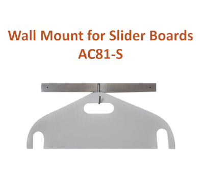 Wall Mount Rack for Patient Slider Boards