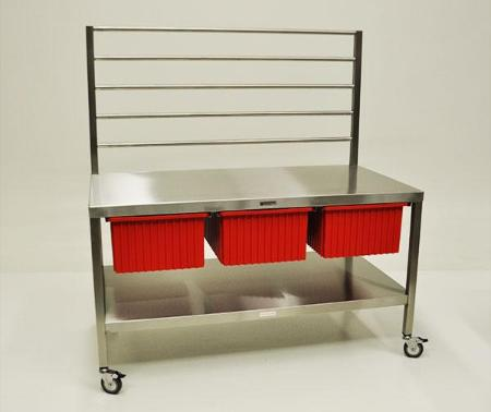 AC2050 Stainless Steel Central Sterile Instrument Wrapping Station