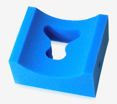 "FP-176-2UF | Prone Concave Head Positioner: 8"" x 9"" x 4""T"