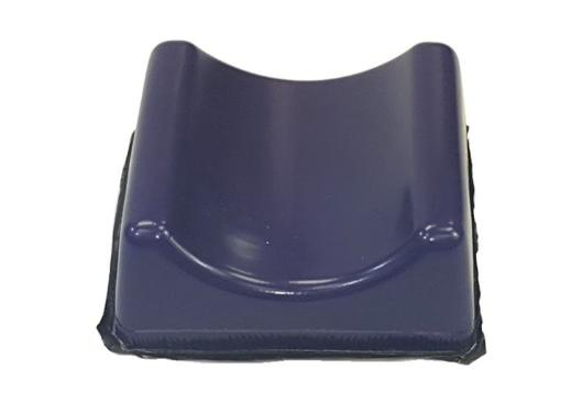 "GP213 Gel Contoured Headrest, 7""W x 7""L x 3 1/4""H (1"" Contour)"