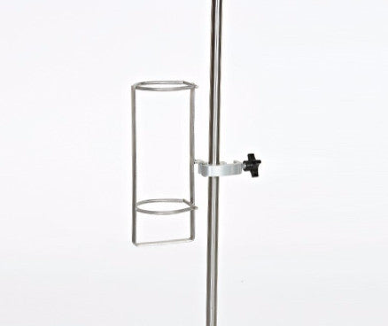"AC2122 Oxygen Tank Holder, Stainless Steel, Without Universal Clamp, Standard Tank Size 4 1/2""D"