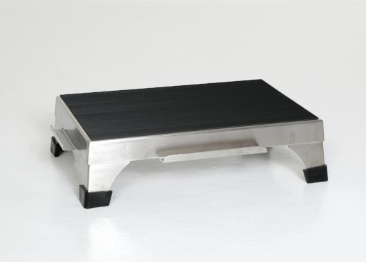 "AC2175 Surgical Step Stool, Stackable Top with Interlocking Edges, Size: 18""W x 12""D x 5""H"