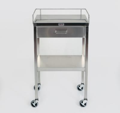 AC230 Stainless Steel Anesthesia/Utility Table with 1 Drawer