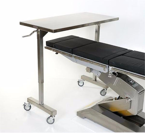 Surgical Table with Height Adjustment Table Over-Top