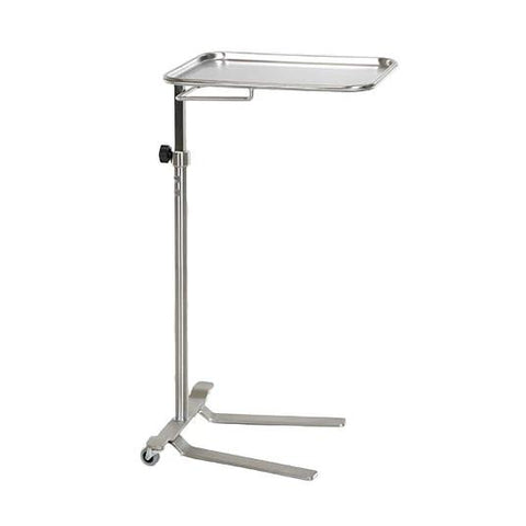 "MS731 | Stainless Steel Knob Control Mayo Stand: 14-1/4""W x 21-1/4""L"