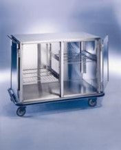 "AC500 Maxi Closed Case Cart, Stainless Steel, 52""W x 29""D x 40 1/4""H"