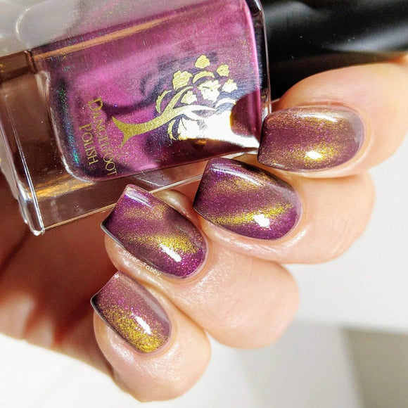 Danglefoot Nail Polish - 6th Anniversary Trio - Trouble and Strife