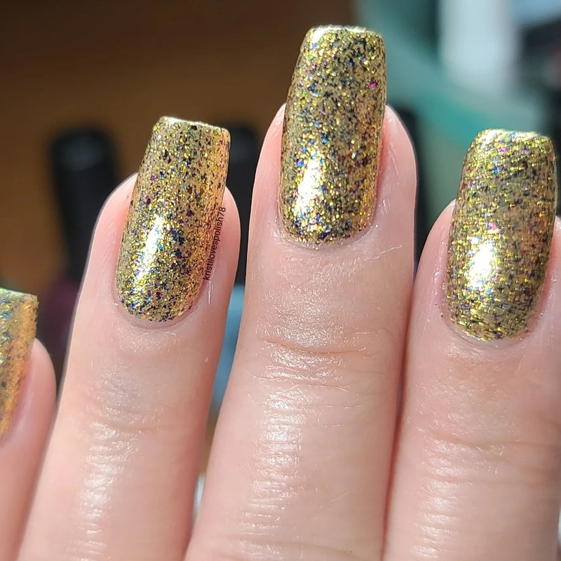 Black Dahlia Lacquer - Winter 2020 - Gilded
