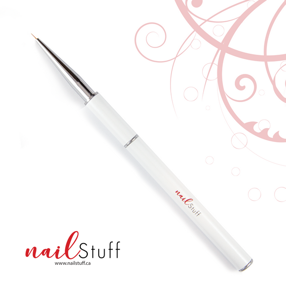 NailStuff Nail Art Brush -  4mm Micro Detail Brush