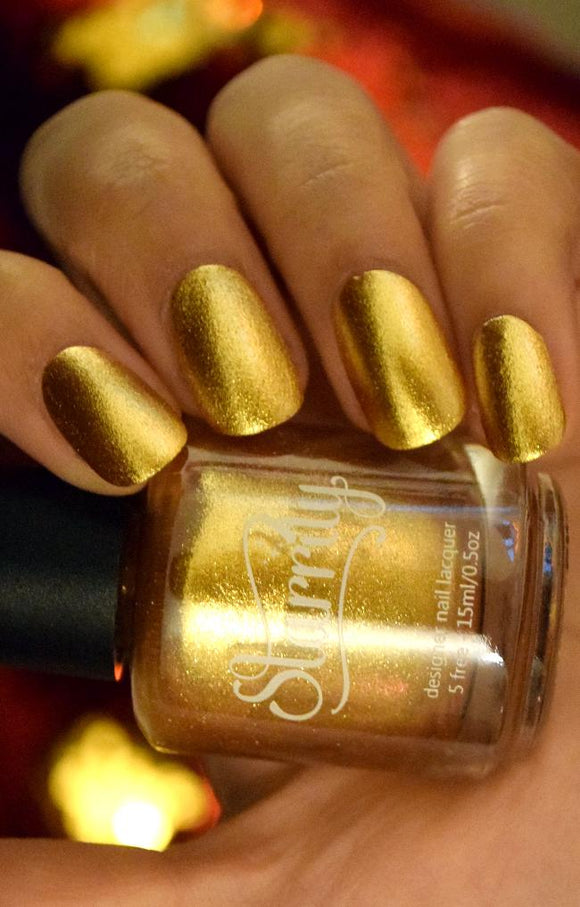 Starrily - Au Nail Polish (Gold Foil)