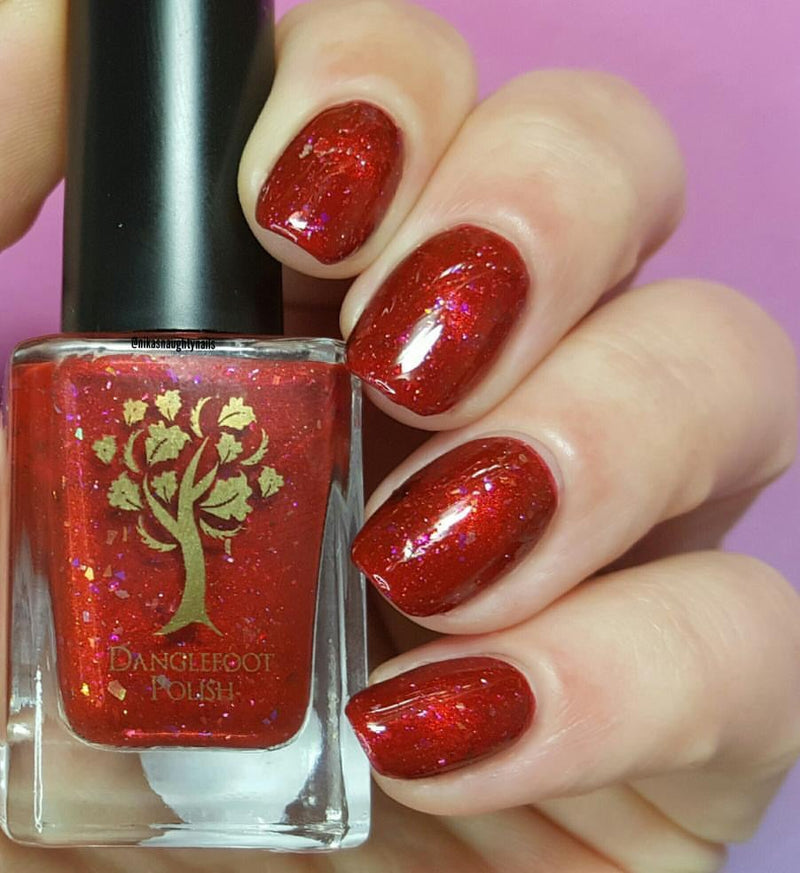Danglefoot Nail Polish - Celestial Collection - Here Comes the Sun (Magnetic)
