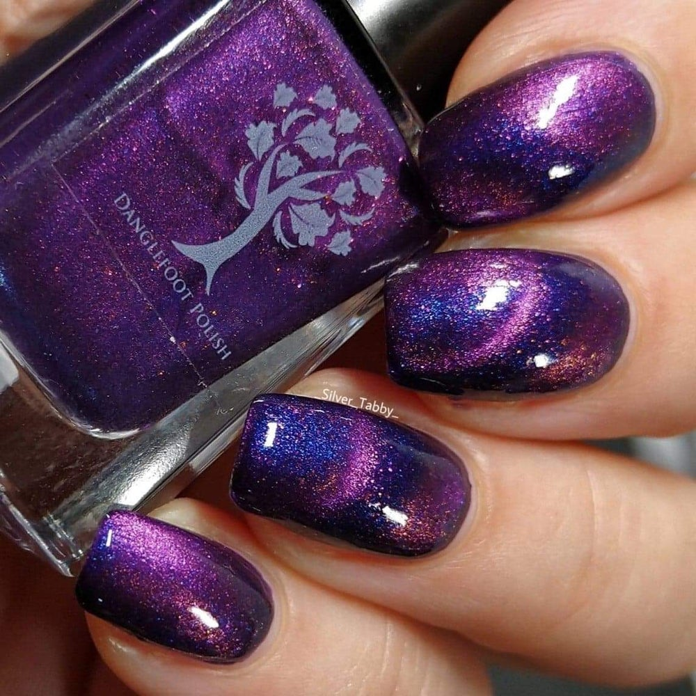 Danglefoot Nail Polish - Phantom of the Opera Collection - Masquerade (Magnetic)