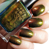 Danglefoot Nail Polish - Neverending Story Collection - Swamp of Sadness