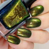 Danglefoot Nail Polish - Neverending Story Collection - The Nothing