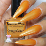 Dimension Nails - Crystal Infused - Orange Calcite
