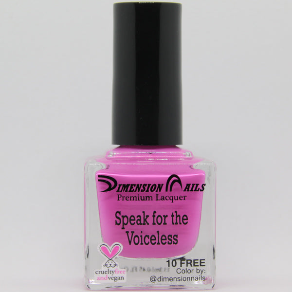 Dimension Nails - Activist Collection - Speak For The Voiceless