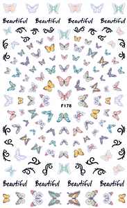Butterfly - Nail Sticker Thumbnail