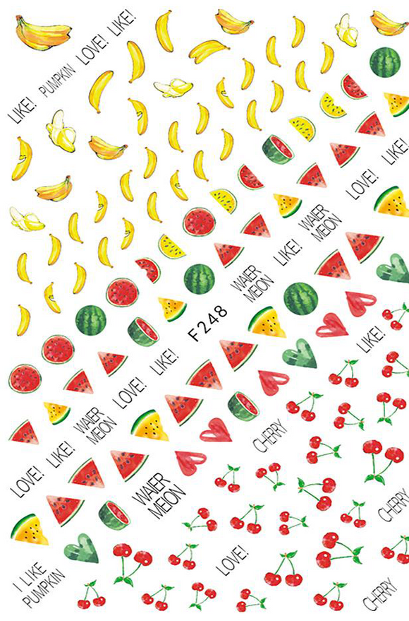 Fruity - Nail Sticker