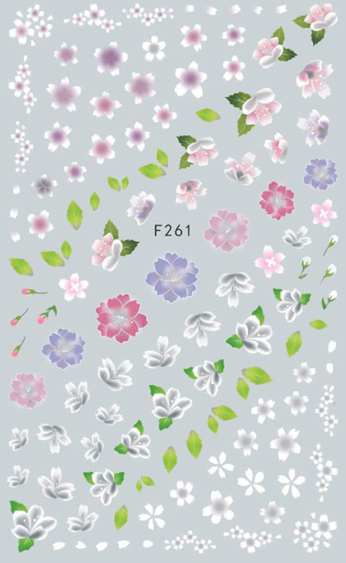 Spring Blossoms Nail Sticker