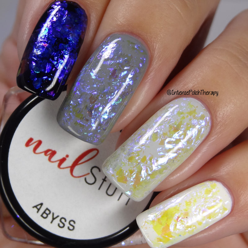 NailStuff - Abyss Iridescent Nail Flakes