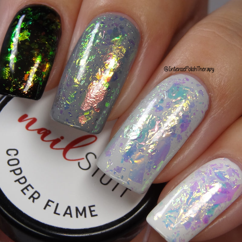 NailStuff - Copper Flame Iridescent Nail Flakes