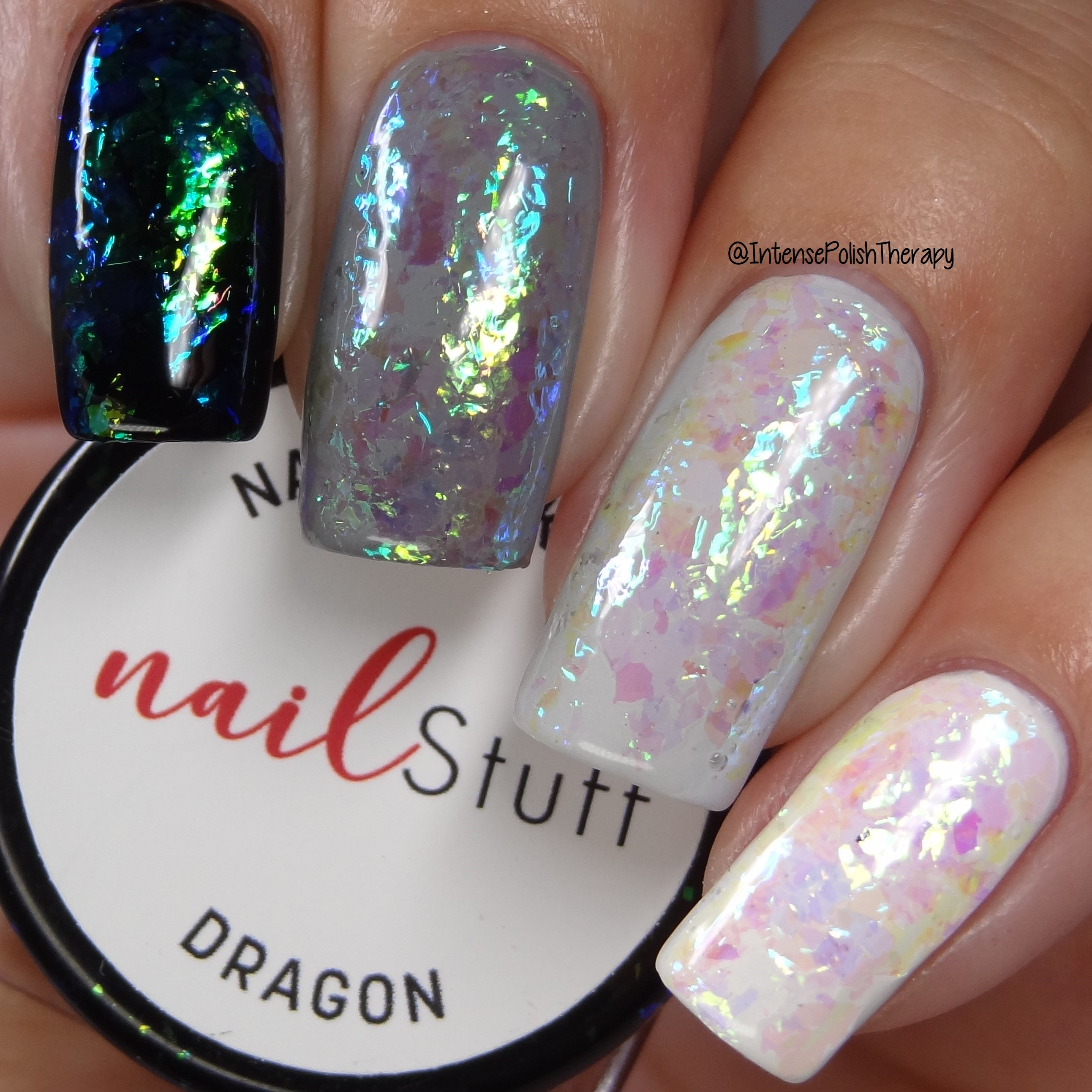 Dragon - Iridescent Nail Flakes