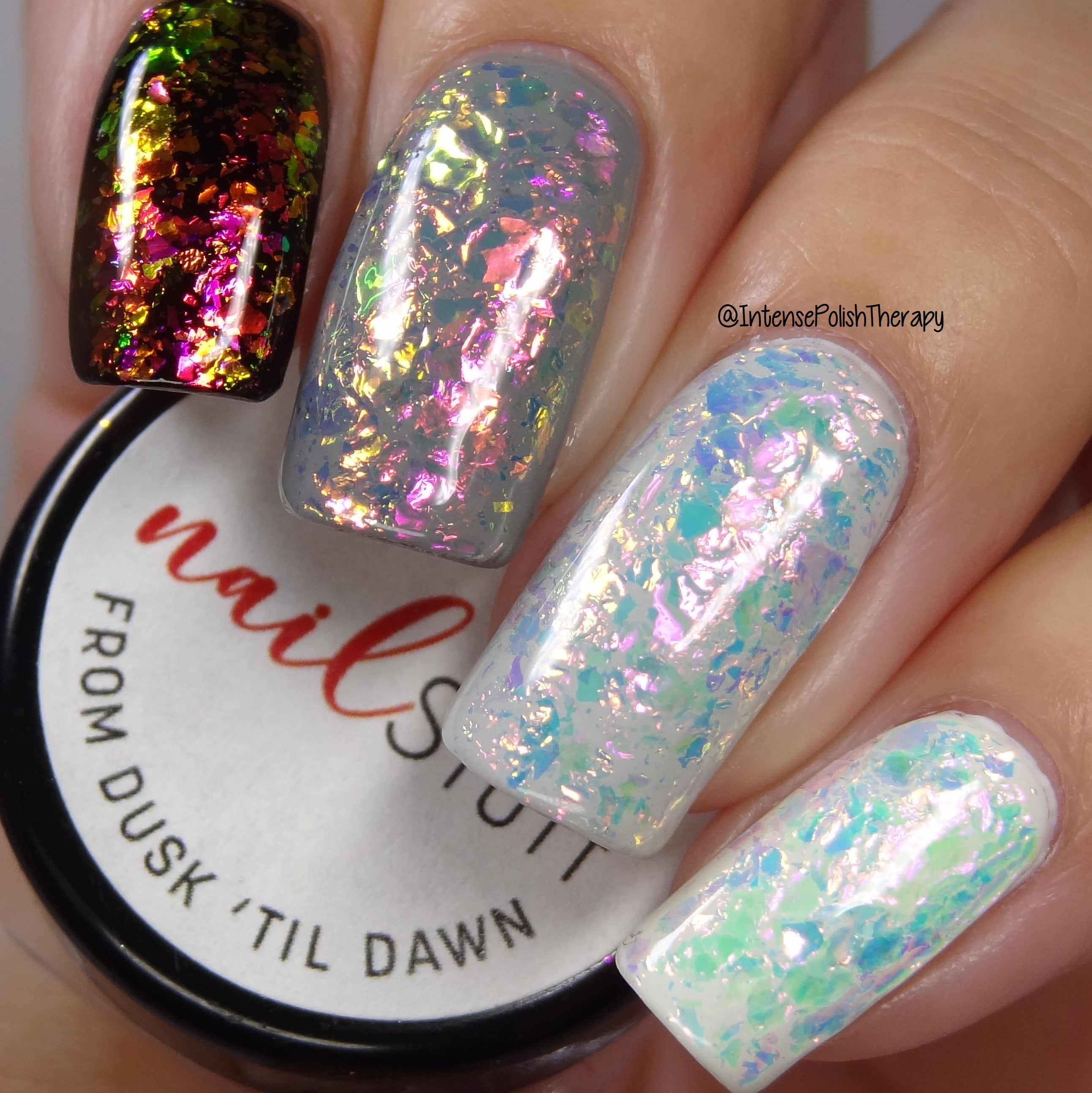 From Dusk 'Til Dawn - Iridescent Nail Flakes