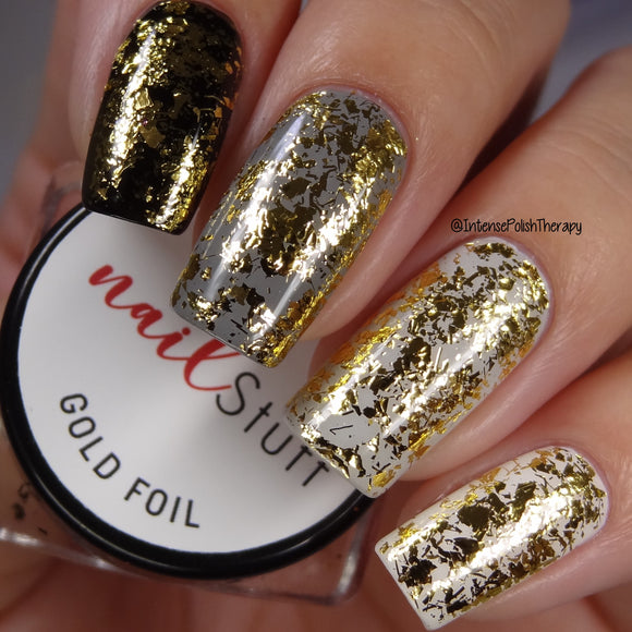 Gold Metallic Foil Flakes