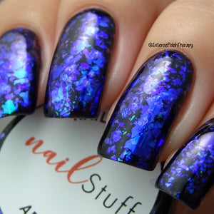 Abyss - Iridescent Nail Flakes