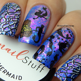 Mermaid - Iridescent Nail Flakes