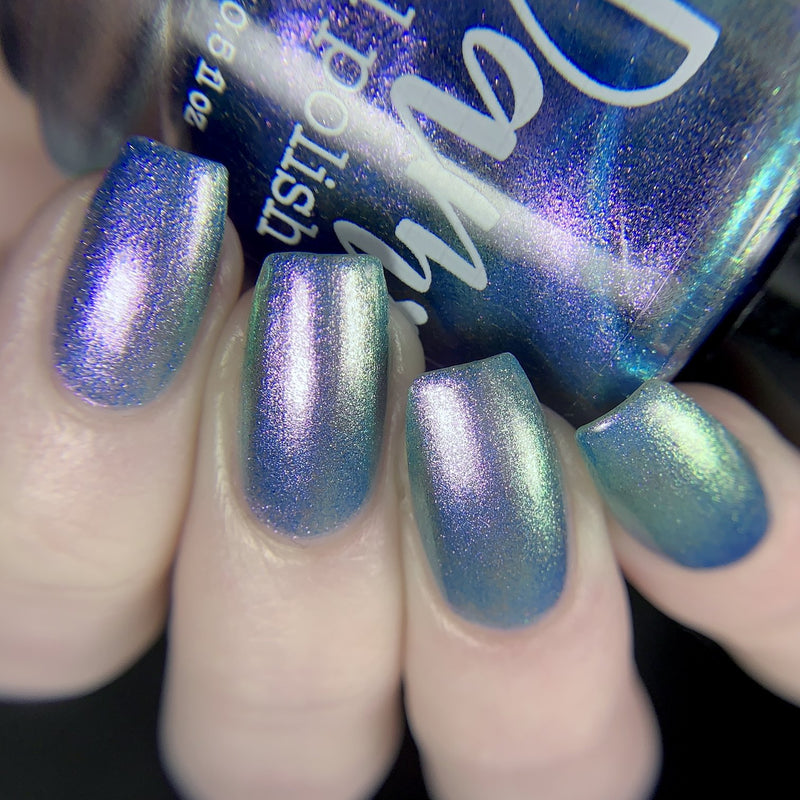 Dam Nail Polish - One Salty Beach - So-fish-ticated