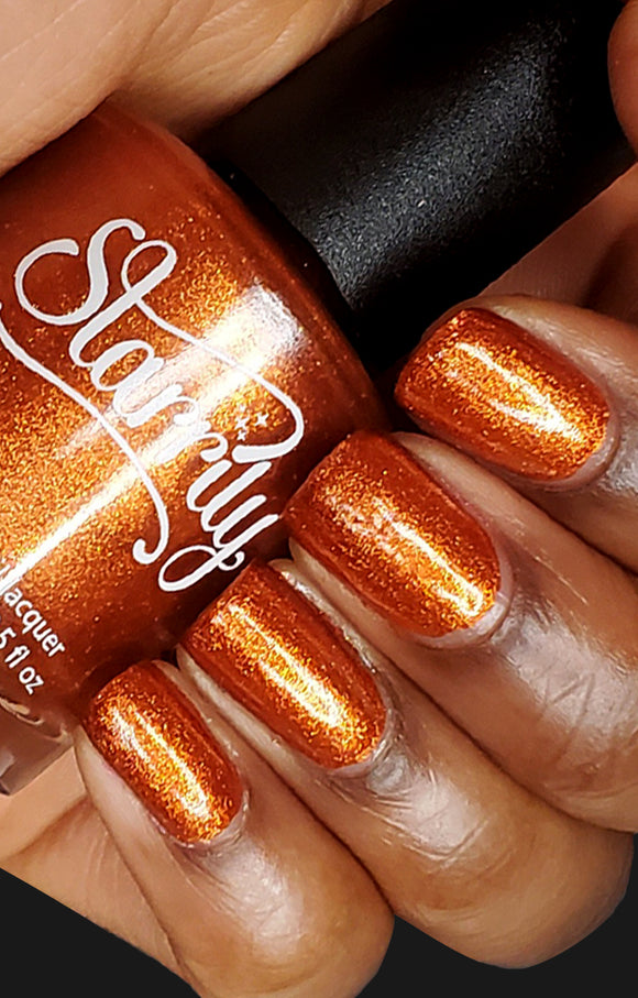 Starrily - Sunlight Nail Polish (Orange Foil)