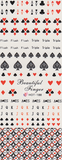 Poker Vegas Large Sheet Water Decal