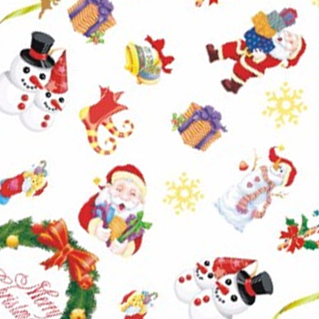 Christmas Water Decal 2