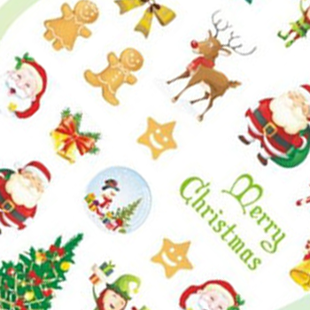Christmas Water Decal 3