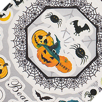 Halloween Jack-o-Lantern Large Sheet Water Decal