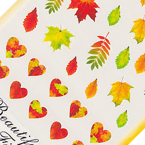 Autumn Large Sheet Water Decal