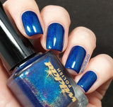 Wikkid Polish - Premium Holo - Blue Monarch Nail Polish