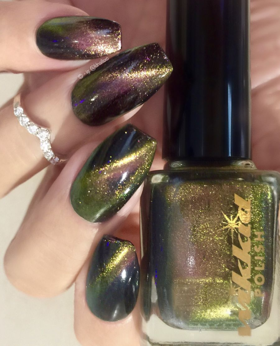 Wikkid Polish - What Wizardry Is This? - Hermione Magnetic Nail Polish