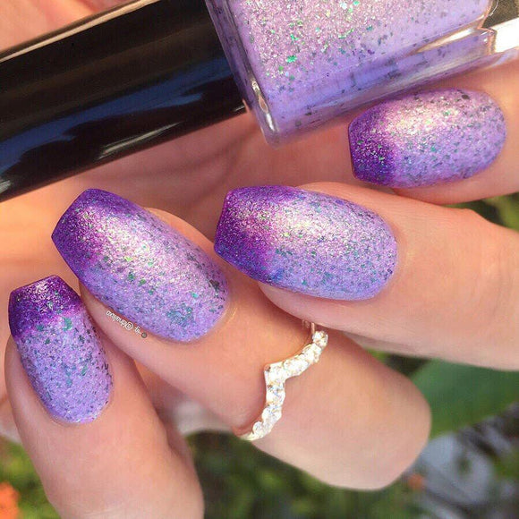 Wikkid Polish - Thermals - Lavender Nail Polish