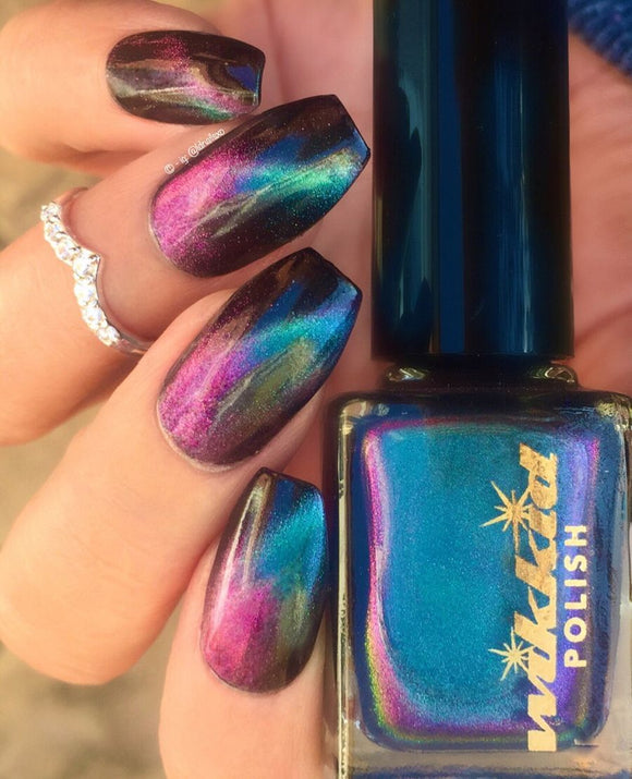 Wikkid Polish - What Wizardry Is This? - Minerva Magnetic Nail Polish