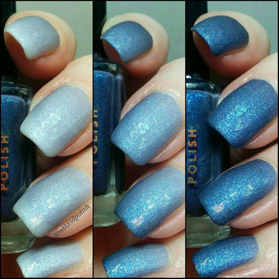 Wikkid Polish - What Wizardry Is This? - Myrtle Thermal Nail Polish