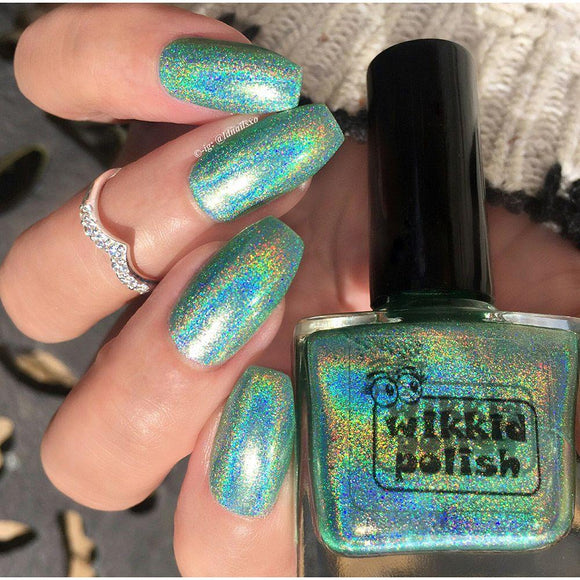 Wikkid Polish - Premium Holo - Shades of Jade Nail Polish