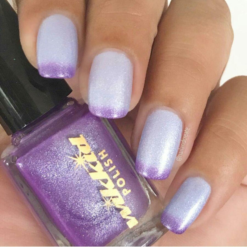 Wikkid Polish - Thermals - Stepping Out With Iris Nail Polish