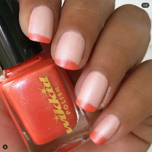 Wikkid Polish - Thermals - Traffic Cone Chaos Nail Polish
